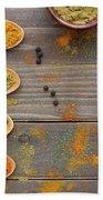Spices Beach Towel