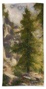 Spruce Beach Towel