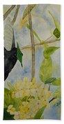 St. Lucian Hummingbird Beach Towel