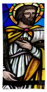 Stained Glass Beauty Beach Towel