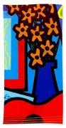 Still Life With Henri Matisse's Verve Beach Towel