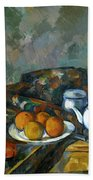 Still Life With Teapot Beach Towel
