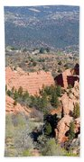 Stone Quarry At Red Rock Canyon Open Space Park Beach Towel