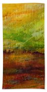 Storm At Sunrise Beach Towel