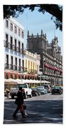 Streets Of Puebla 5 Beach Towel