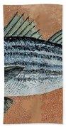 Striper Beach Towel