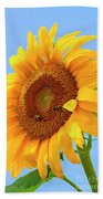 Sunflower Joy Beach Towel