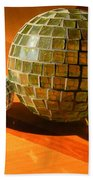 Sunlit Spheres Beach Towel