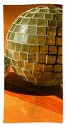 Sunlit Spheres Beach Towel