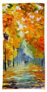 Sunny October Beach Towel