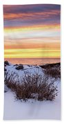Sunrise At Marginal Way Beach Towel