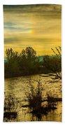 Sunrise On The Payette River Beach Towel