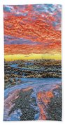 Sunset In El Prado Beach Towel