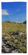 Superb Landscape In Rocky Mountain National Park Beach Towel
