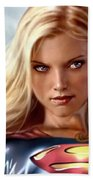 Supergirl Collection Beach Towel