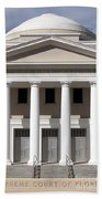 Supreme Courthouse In Tallahassee Florida Beach Towel