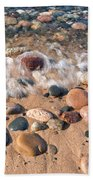 Surf And Stones Beach Towel