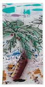 Surf N Palms Beach Towel by J R Seymour