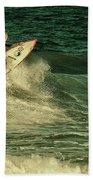 Surfing - Jersey Shore Beach Towel