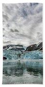 Surprise Glacier Beach Towel