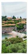 Sveti Stefan, Montenegro Beach Towel