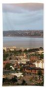 Swansea Bay South Wales Beach Towel