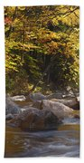 Swift River - White Mountains New Hampshire Usa Beach Sheet