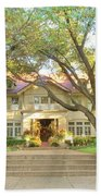 Swiss Avenue Historic Mansion Dallas Texas Beach Towel