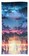 Sword Art Online Game Beach Towel