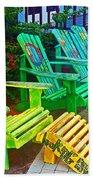 Take A Break Beach Towel by Debbi Granruth