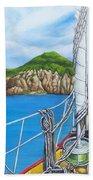 Take Me To Saba Beach Towel