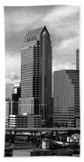 Tampa The Downtown Beach Towel
