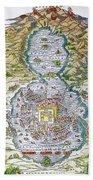 Tenochtitlan (mexico City) Beach Towel