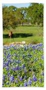 Texas Wildflowers Beach Towel