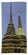 Thailand Architecture Beach Towel