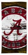 The Alabama Crimson Tide Beach Towel