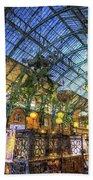 The Apple Market Covent Garden London Art Beach Towel