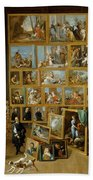 The Art Collection Of Archduke Leopold Wilhelm In Brussels Beach Towel