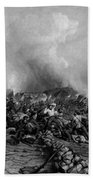The Battle Of Gettysburg Beach Towel by War Is Hell Store