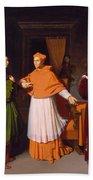 The Betrothal Of Raphael And The Niece Of Cardinal Bibbiena Beach Towel