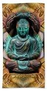 The  Buddhas Of Ayahrtyan  Beach Towel