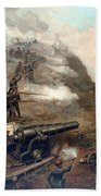 The Capture Of Fort Fisher Beach Towel by War Is Hell Store