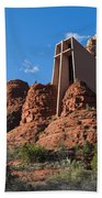 The Chapel Of The Holy Cross Beach Towel