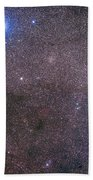 The Coalsack And Jewel Box Cluster Beach Towel