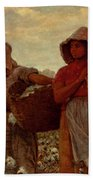 The Cotton Pickers Beach Towel