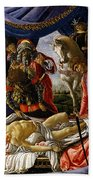 The Discovery Of Holofernes' Corpse Judith Returns From The Enemy Camp At Bethulia Beach Towel