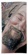 The Dude Beach Towel by Tom Roderick