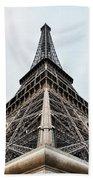 The Eiffel Tower In Paris Beach Towel