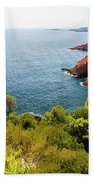 The French Riviera  Beach Towel