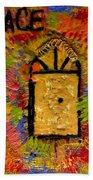The Golden Door Of Grace Beach Towel
